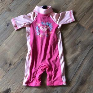 Roxy kids toddler rash wet suit